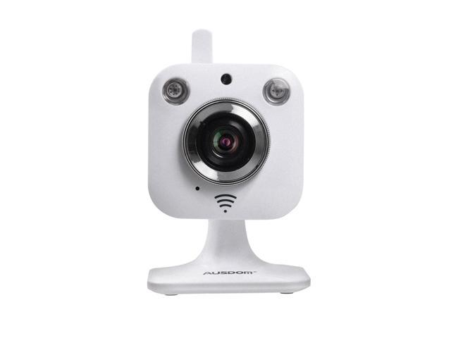 AUSDOM 720P HD WiFi Cloud Camera S2 Smart Security monitoring Wireless  Camera Indoor remote Pan/Tilt + WPS button wireless connection + Night  Vision +
