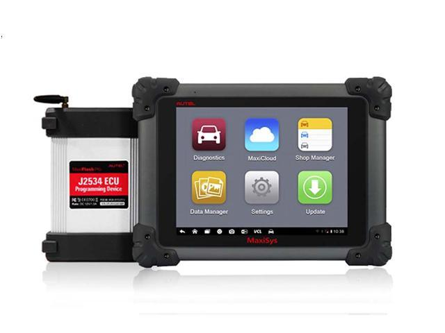 Autel Maxisys Pro MS908P Smart Vehicle Diagnostics and ECU Programming  System with Bluetooth / Wireless Android Diagnostic Scanner Maxisys -  AT00074 -