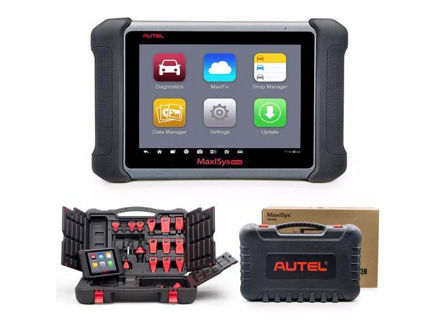 Autel MaxiSYS MS906 Automotive Diagnostic Scanner [Upgrade of MaxiDAS  DS708] Android WiFi Touch Screen Tablet Type Car OBDII Tool with Read,  Diagnose,