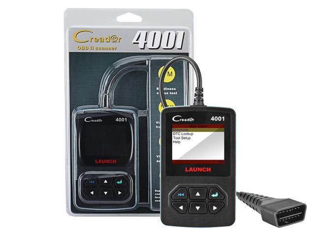 Car Code Reader, Launch CReader 4001 Diagnostic Scan Tool for Check Engine  Light & Diagnostics, CR 4001 Support Read and Clear Error Codes, Query DTCs