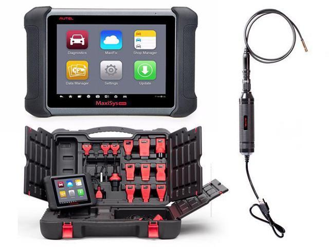 AUTEL MaxiSYS MS906 Android 4 0 Full System Auto Diagnostic Scanner with  free MaxiVideo MV105 5 5mm Digital Inspection Camera - Newegg com
