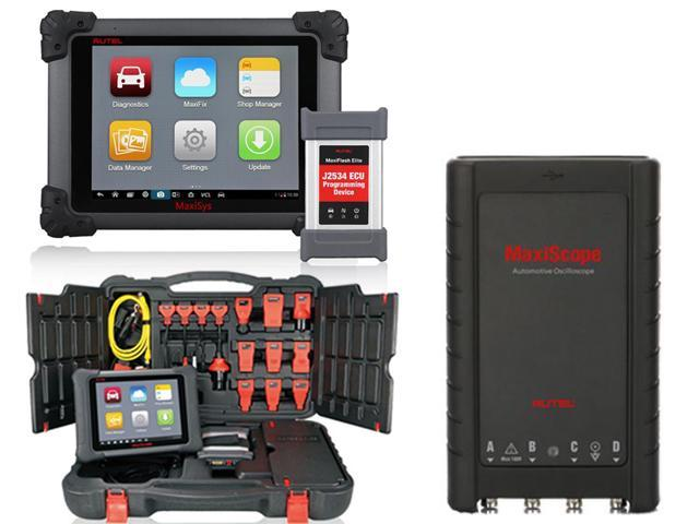 Autel MaxiSYS Elite Automotive Diagnostic & ECU Coding Programming System 2  years online update with J2534 Elie Module + BMW Ethernet Cable +