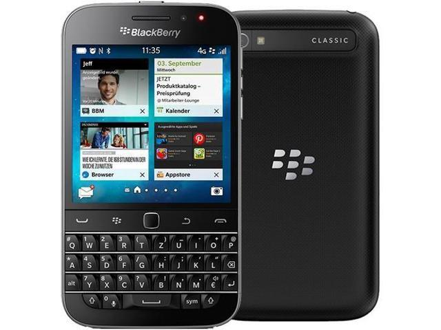 BlackBerry Q20 Classic Black SQC100-4 Factory Unlocked GSM 3 5