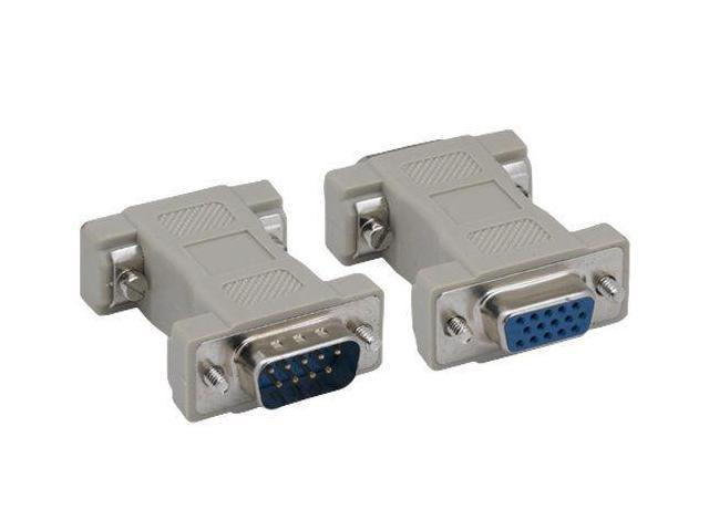 HD15 Male Male  mini gender changer VGA M//M gender changer Adapter