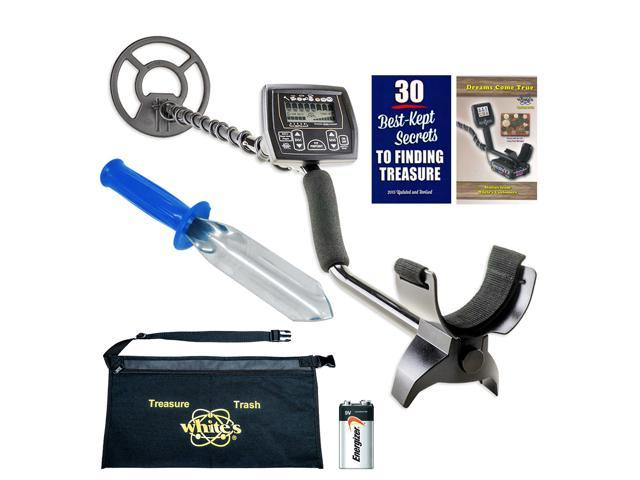 Whites Coinmaster Metal Detector Diggers Special with Digging Trowel &  Apron - Newegg com