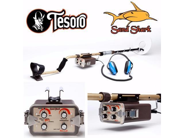 Tesoro Sand Shark Metal Detector with 8