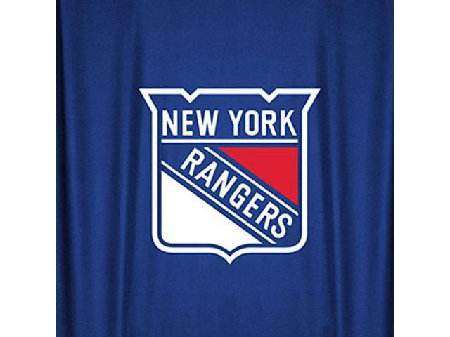 NHL New York Rangers Hockey Locker Room Shower Curtain