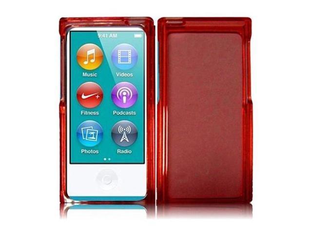 Apple Ipod Nano 7 7th Generation Skin Case Honey Protective Back Cover For Ipod Nano 7th Gen Red Newegg Com