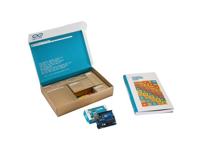 The Arduino Starter Kit (Official Kit from Arduino with 170-page Arduino  Projects Book) - Newegg com
