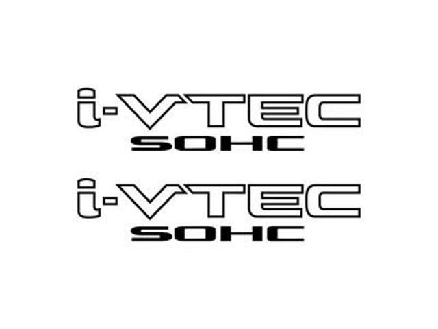 i-vtec sohc decal sticker - black