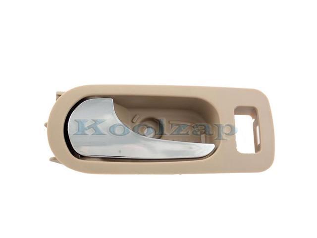 05-09 Lacrosse Allure Inside Inner Rear Beige Door Handle Left Driver Side