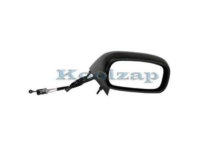 TYC 92 99 Bonneville Manual Remote Smooth Rear View Mirror Right Passenger Side