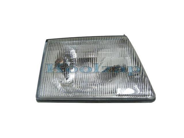 1992 1993 1994 1995 1996 Ford Econoline Van (E150 E250 E350 Club Wagon)  Headlight Headlamp Composite Halogen Front Head Light Lamp Assembly DOT/SAE