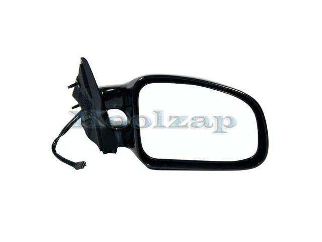 Power Side View Mirror Black Passenger Right RH NEW for 99-03 Pontiac Grand Am