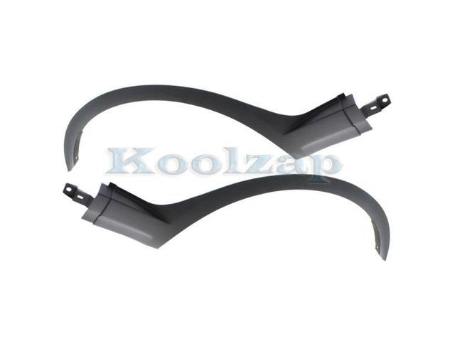For BMW X1 12-15 Textured Black Driver Side Fender Flares Front
