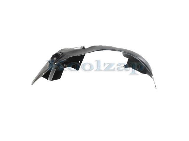 07-13 Outlanders Front Splash Shield Inner Fender Liner Panel Left Driver Side