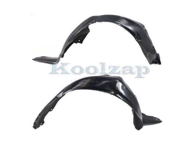 Koolzap For 08-13 Altima Front Splash Shield Inner Fender Liner Left Right Side SET PAIR