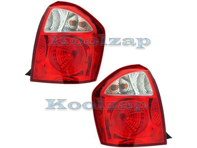 For Honda Pilot 03 04 05 06 07 08 Rear Tail Light Lamp Pair