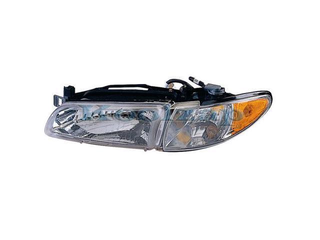 1997 2003 Pontiac Grand Prix Headlight Headlamp With Bulb Front Head Lamp Corner