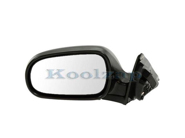 99-05 Tracker Vitara Power Black Non-Folding Rear View Mirror Left Driver Side L