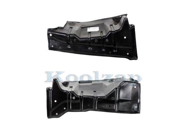 Koolzap For Engine Splash Shield Under Cover Undercar 96-00 Elantra Left Right SET PAIR