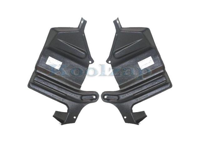 Engine Splash Shield Set of 2 compatible with 2000-2001 Infiniti I30 Under Cover Right and Left Side