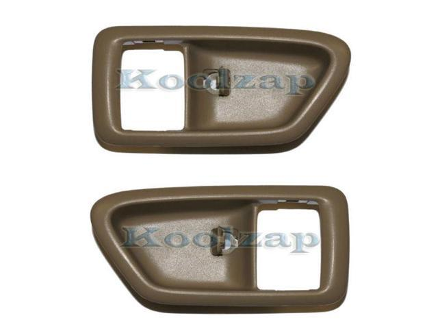 For 97-01 Camry Rear Black Outside Outer Exterior Door Handle Left Driver NEW