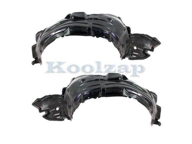 For 08-13 EX35//EX37 14-17 QX50 Front Splash Shield Inner Fender Liner Right Side