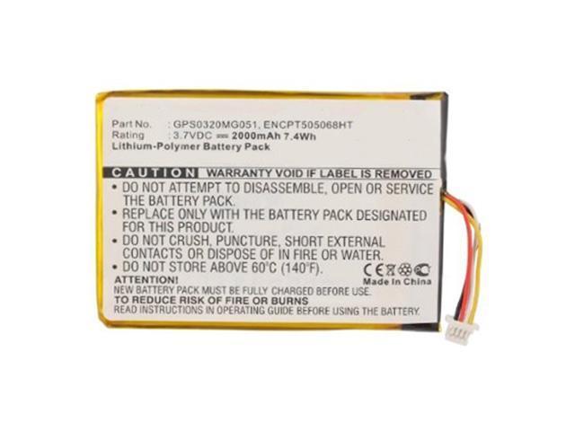 SkyCaddie SGX 2000mAh Battery For SkyGolf SkyCaddie SGXw SkyCaddie SGX-W