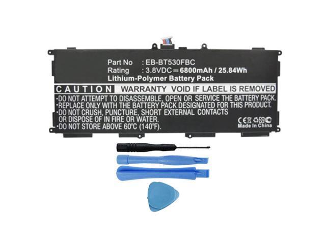"NEW 6800mAh Battery For Samsung Galaxy Tab 4 10.1/"" SM-T530 SM-T530NU EB-BT530FBC"