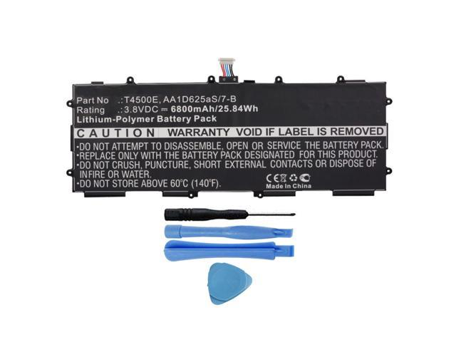 Samsung Galaxy Tab 3/10.1/GT-P5210/6800/mAh batteria T4500E OEM