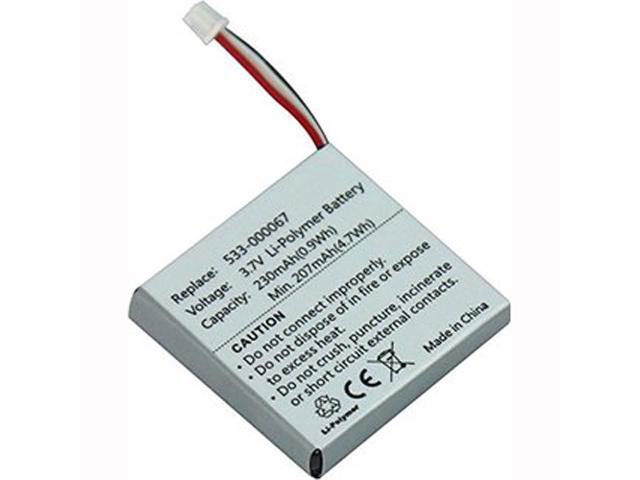 Replacement 533 000067 Ahb472625pst Battery For Logitech H800