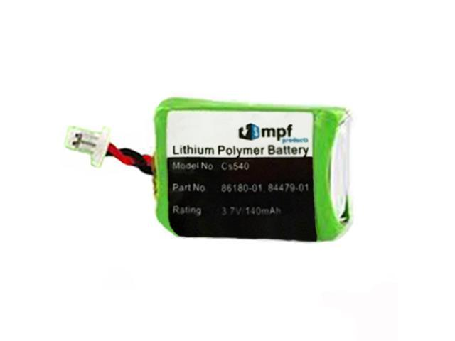 Replacement 3 7v 140mah 86180 01 84479 01 Battery For Plantronics Cs540 Cs540a Cs540 Xd Wireless Headsets Newegg Com