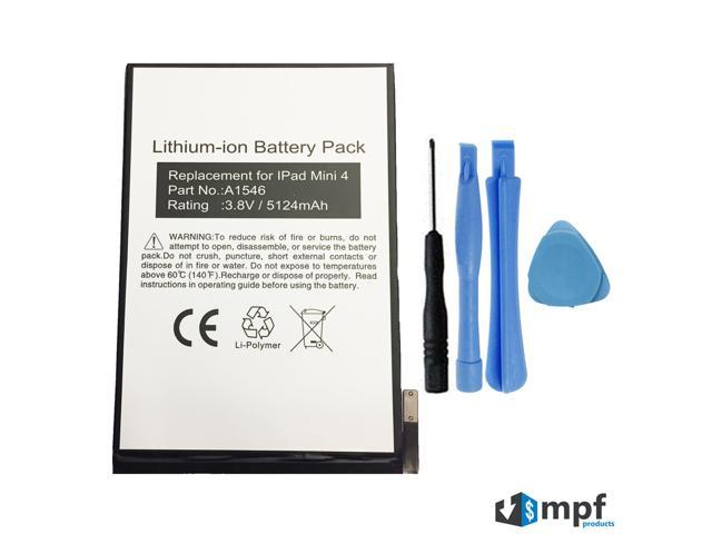 5124mah A1546 020 00297 Battery Replacement For Apple Ipad Mini 4