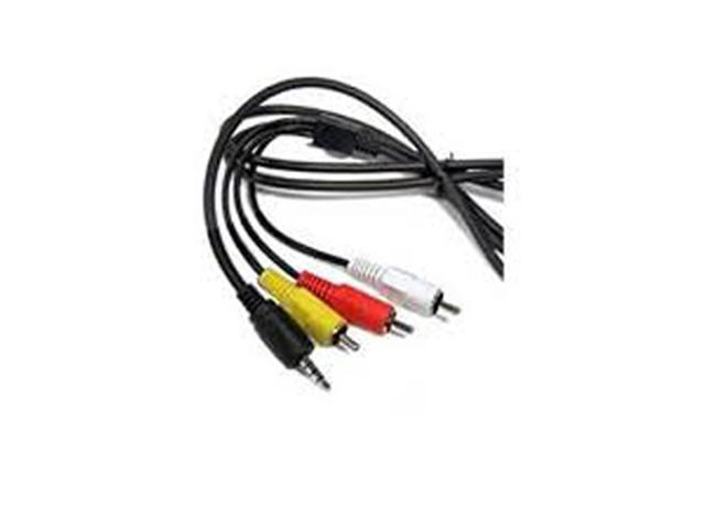 AV A//V AUDIO VIDEO TV Cable Cord Lead For Canon Camcorder ZR400 ZR45