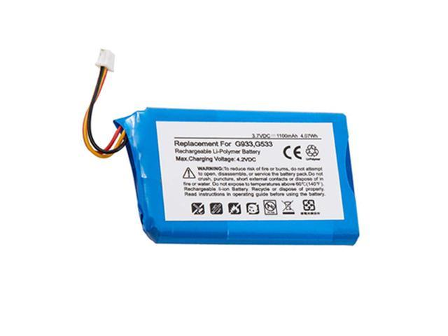 1000mAh 533-000132 Battery Replacement for Logitech G533 and G933 Artemis  Spectrum Wireless Gaming Headsets - Newegg com