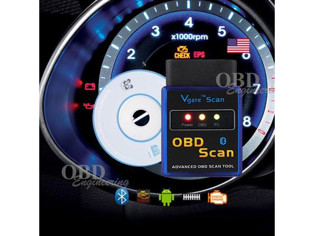 Clear Check Engine Light >> Vgate Bluetooth Obd 2 Obdii Wireless Car Auto Diagnostic Code Reader Scan Tool For Android Phones And Windows Pc Designed To Clear Check Engine
