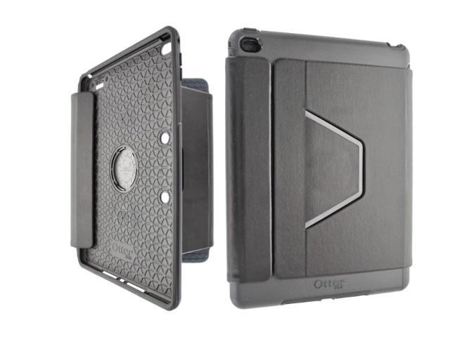 new products b5ff8 d0934 OtterBox Symmetry Folio Case w/ Stand for Apple iPad Air 2 Black -  Newegg.com