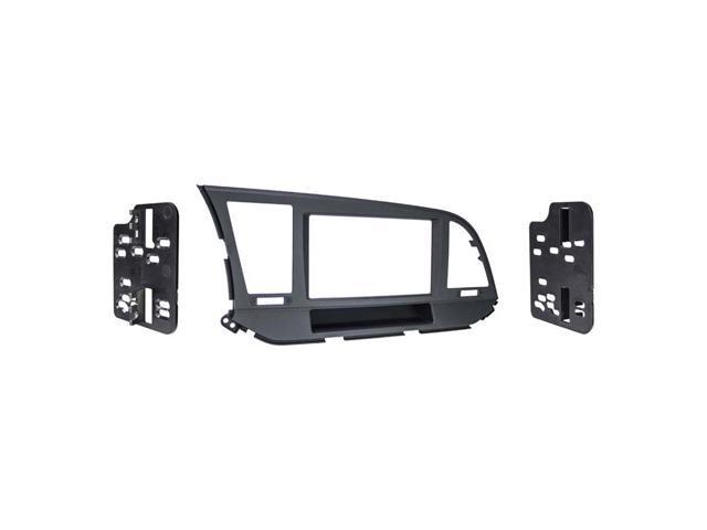 Metra 95-8235CHG Double DIN Dash Installation Kit for 2012 Toyota Tacoma Vehicles Charcoal High Gloss Metra Electronics Corp