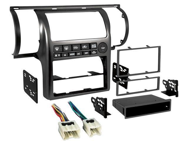 Metra 99-7604B 1 or 2-Din Dash Kit w/ Harness for Infiniti G35 '03-04 on