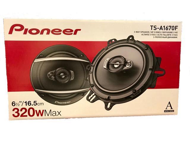 Pioneer 500 Rear panel speakers car speakers adapter rings pods 300W