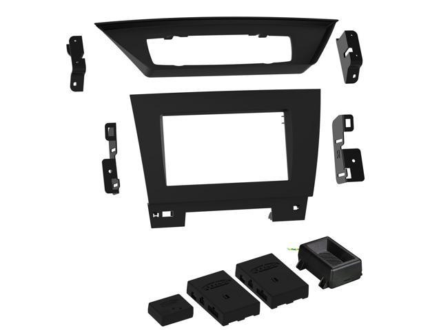 Metra 95-9323B Double DIN Dash Kit for 2013-2015 BMW X1 (with iDrive,  without MOST Amp) - Newegg com