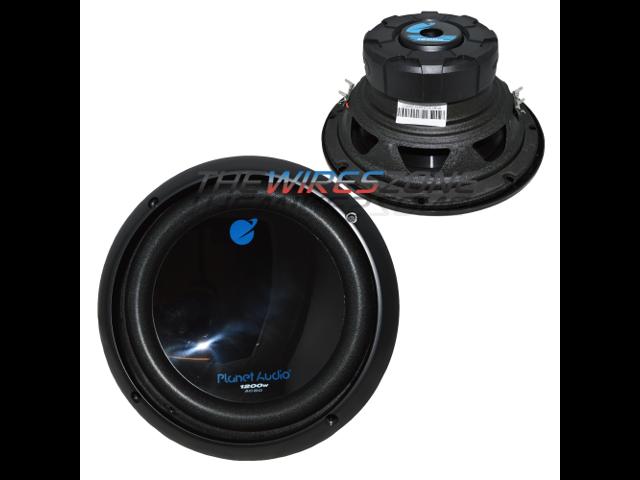 Planet Audio AC10D 1500 Watt Dual 4 Ohm Voice Coil Car Subwoofer 10 Inch
