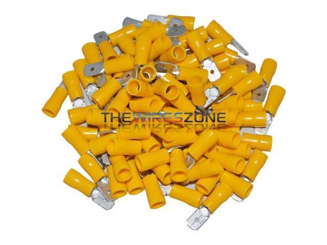 Metra Install Bay HSYBC Pack Of 50 12//10 Gauge Yellow Heat Shrink Butt Connector