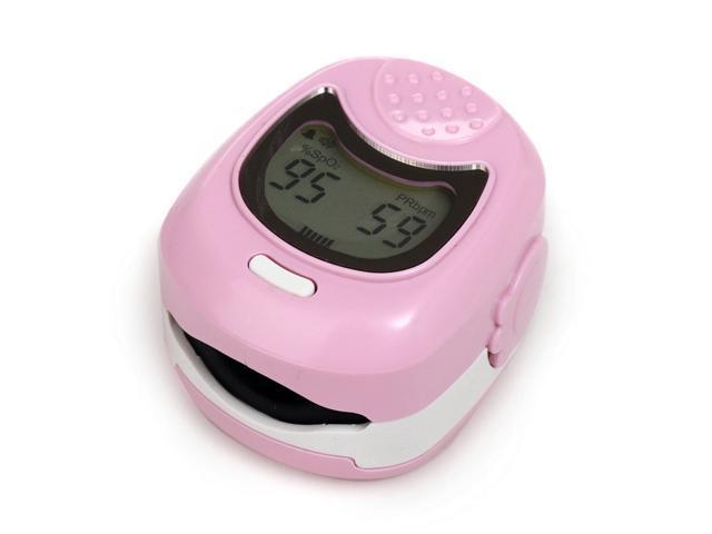 CONTEC CMS50QA BLUE LCD Fingertip Pulse Oximeter for Children for Child  -Pulse Rate Spo2 Monitor Finger pulsE oximeter CE FDA - Newegg com