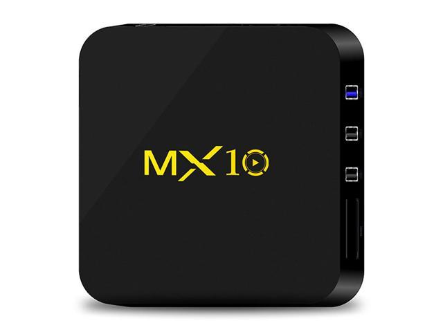 MX10 Android 8 1 RK3328 KODI 18 4K HDR TV BOX 4GB DDR4/32GB eMMC 802 1 1  b/g/n WIFI LAN VP9 HDMI USB3 0 - Newegg com