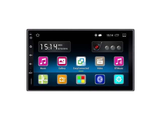 "7/"" 2 Din HD Screen Car Stereo Radio Player GPS Nav with BT WIFI AM//FM Android5.1"
