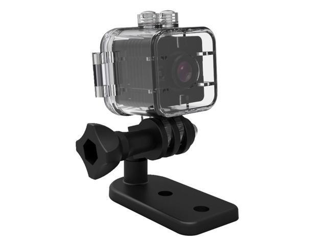 Quelima SQ12 Mini Camera Sports HD DV Camcorder Night Vision 155 Degrees FOV Angle 30 Meters Waterproof 1080P HD Car DVR