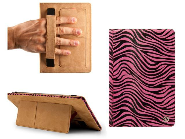 Miraculous Vangoddy Pink And Black Zebra Mary Portfolio Book Style Case Cover For 10 Inch Tablets Newegg Com Beutiful Home Inspiration Xortanetmahrainfo