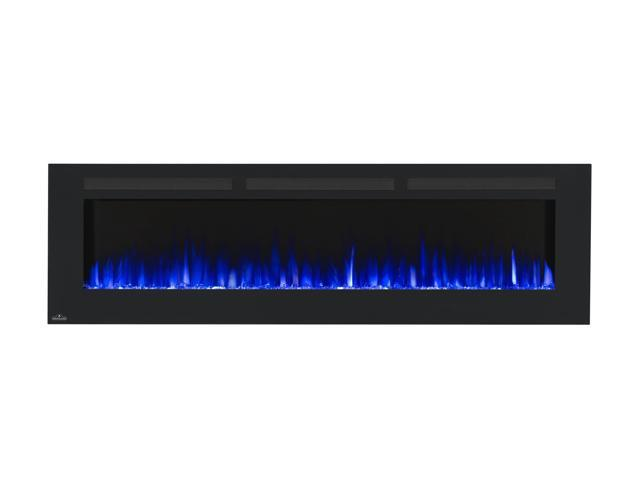 Peachy Napoleon Nefl72Fh Allure Series Linear Slimline Wall Mount Built In Electric Fireplace 72 Inch Newegg Com Interior Design Ideas Greaswefileorg